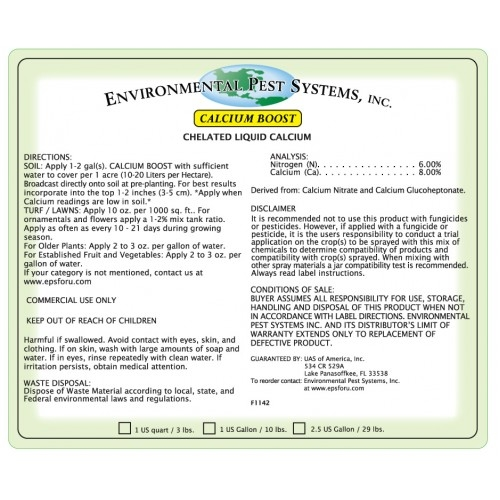 Environmental Pest Systems - Calcium Boost