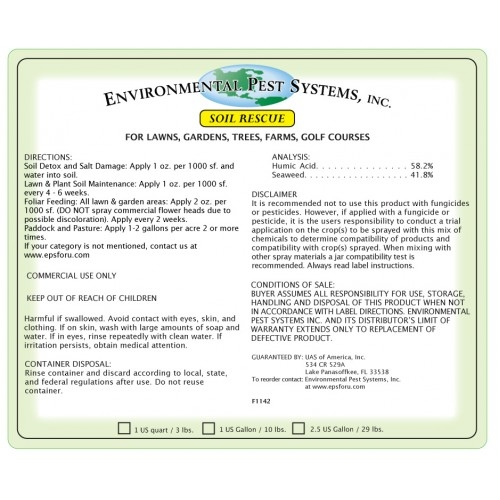 Environmental Pest Systems Soil Rescue