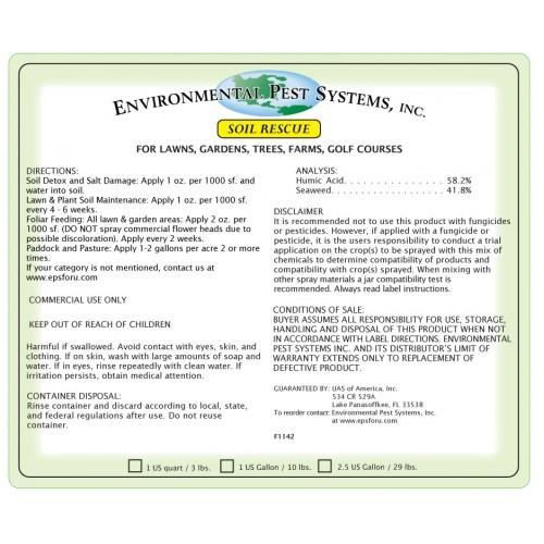 Environmental Pest Systems Soil Rescue